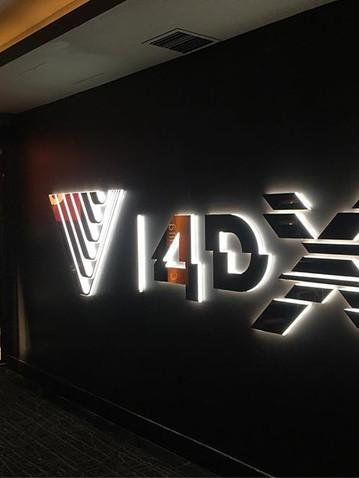 Village 4DX Illuminated Signage Melbourn