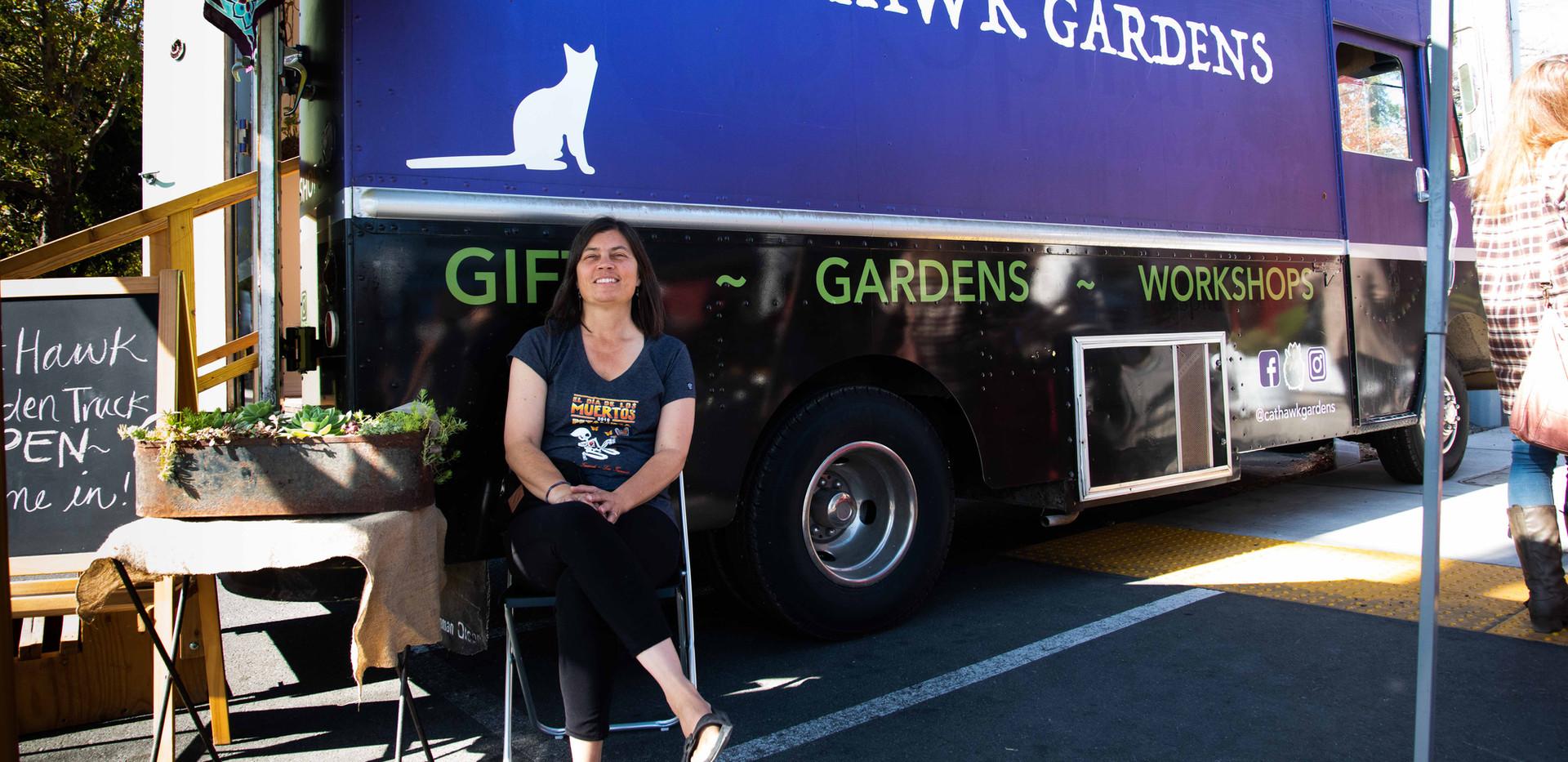 Kokedama Garden Truck