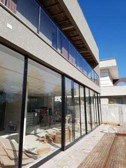 fachada muito vidro