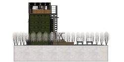 Casa Container 40 Pés - Matinhos