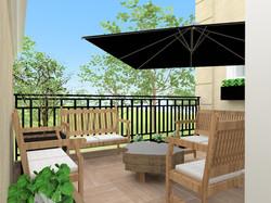 3D terraço