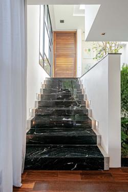 escada inferior