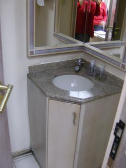 Ambiente: lavabo antes