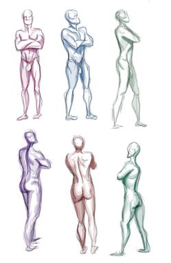 Male Figure Study, Digital, 2020.png