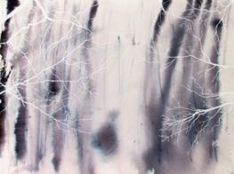 """White tree waves"" (2019)"