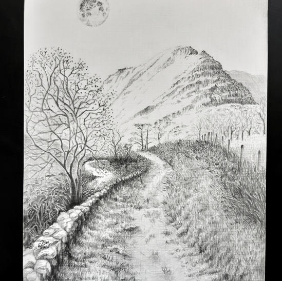A Moonlet Walk