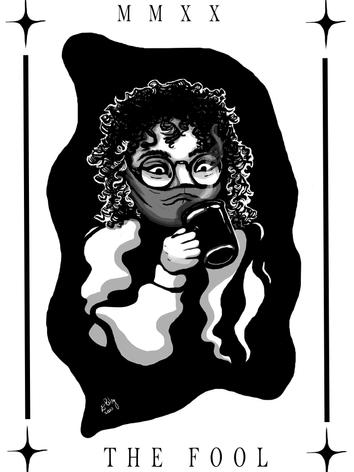 Self portrait tea and mask.png