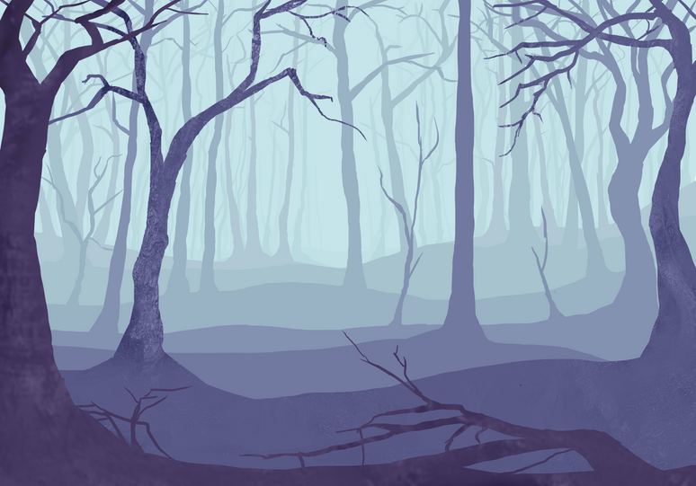 concept art forest with textures cropped
