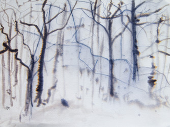 """""""Blue Branches"""" (2019)"""