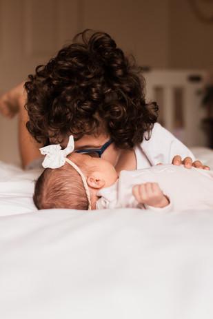 Indoor newborn session