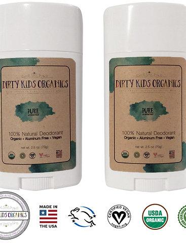 Unscented Deodorant - 2 pack