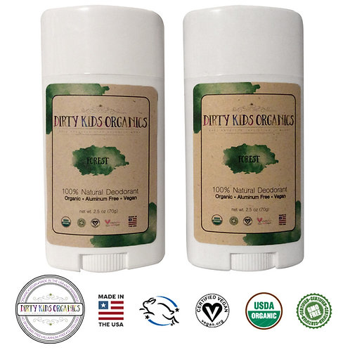 Forest Deodorant - 2 pack