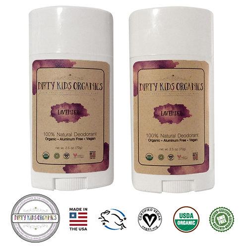 Lavender Deodorant - 2 pack