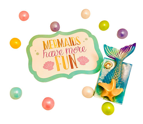 Mermaid Gifts For Girls -Mermaid Tail Soap Toy Gift -Girl Kids Toys/Stuff -All A