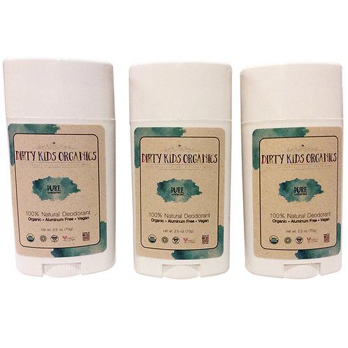 Unscented Deodorant - 3 pack