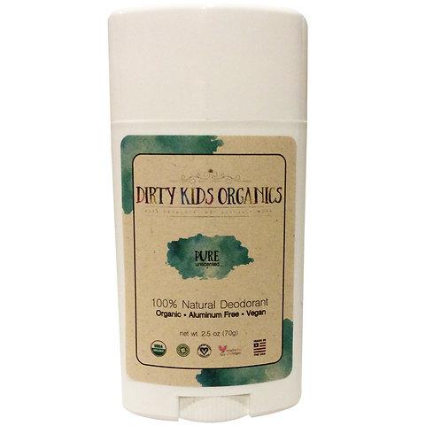 Pure Unscented Deodorant - 1 Pack