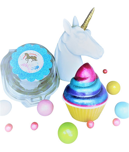 Unicorn Gifts For Girls ~ Rainbow Unicorn Poop Soap- Cupcake Gift ~ Adults & Kid