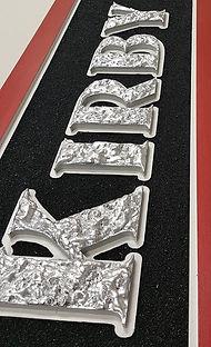 1/2 inch Gator Foam Letters