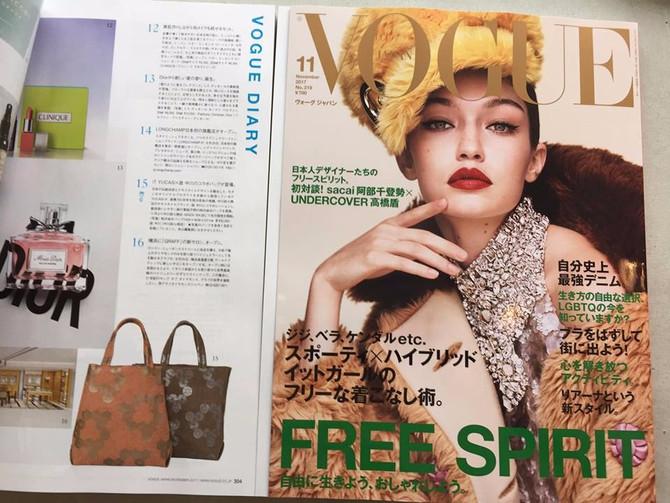 VOGUE JAPANに掲載されました