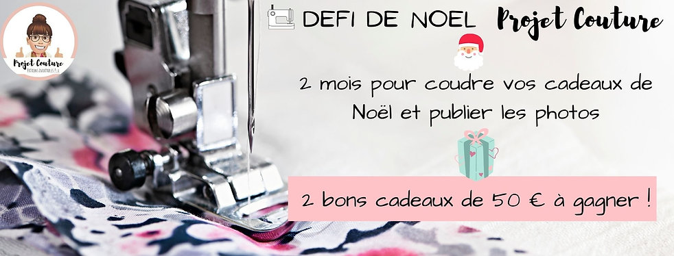 Defi de noel projet couture
