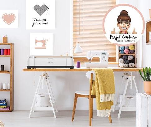 Projet couture - patron pdf accessoire d