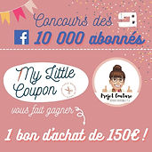 my little coupon concours tissu à gagner