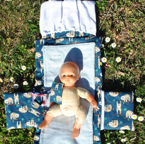 Pochette tapis à langer romy bébé - Proj
