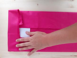 Astuce couture pour plier les tissus et