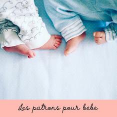 Patron de couture pour bébé - pdf et exp