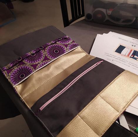 Pochette Kenny - Patron Projet couture s
