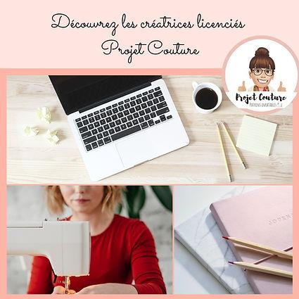 Créatrice Licenciées projet Couture