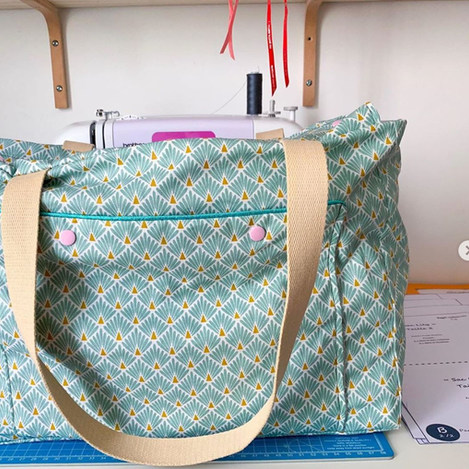 Patron sac Lily - Projet couture