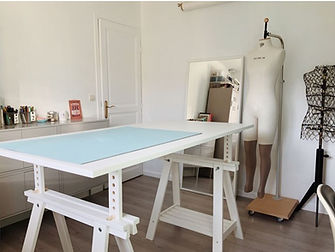 Aménager un espace couture - tuto projet