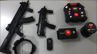 attrezzatura lasergame lasertag fucili.p