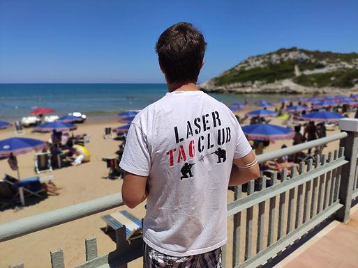T-shirt Scar-L Lasertag Club
