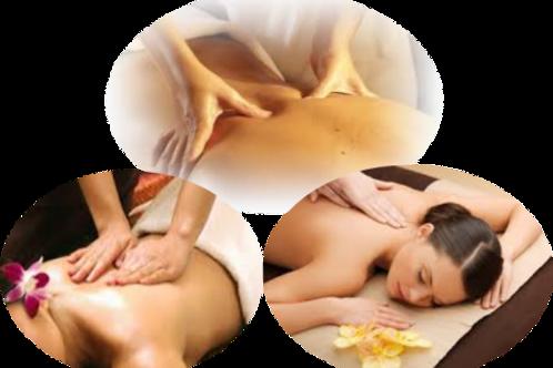 1/2 h - Massage Dos aux Huiles