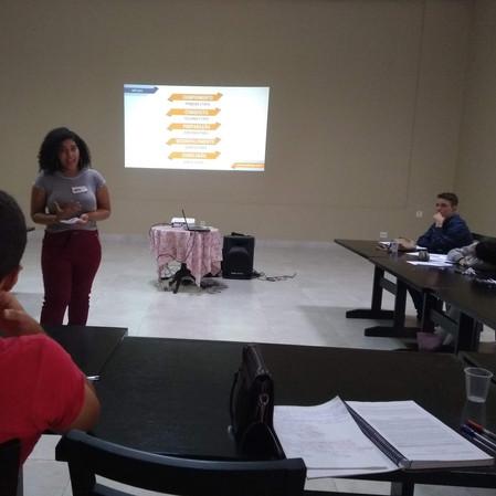 Curso formação de jovens palestrantes