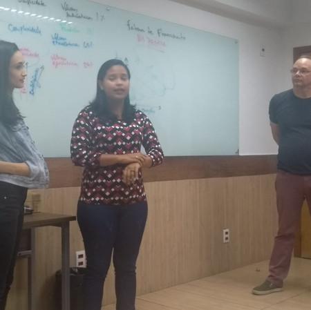 Palestra da Alanna Rillary e Isabel Vieira sobre Psicologia Positiva no IPOG