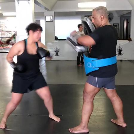 Treino de Muay Thai