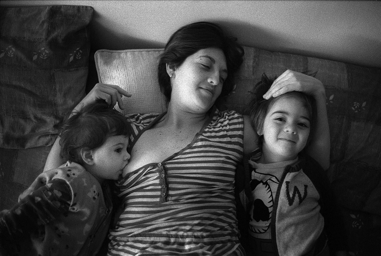 Paulina, Nael y Elías