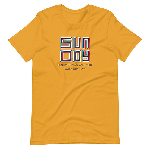 Short-Sleeve Unisex T-Shirt  Sunday Funday