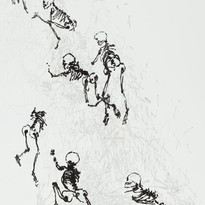 Ghosts Scratching in a Pile of Lines, 2009