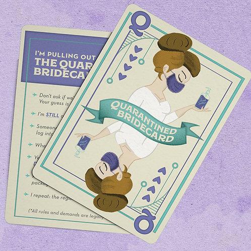 Quarantined Bridecard - Reg