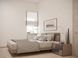 Визуализация спальни г.Самара