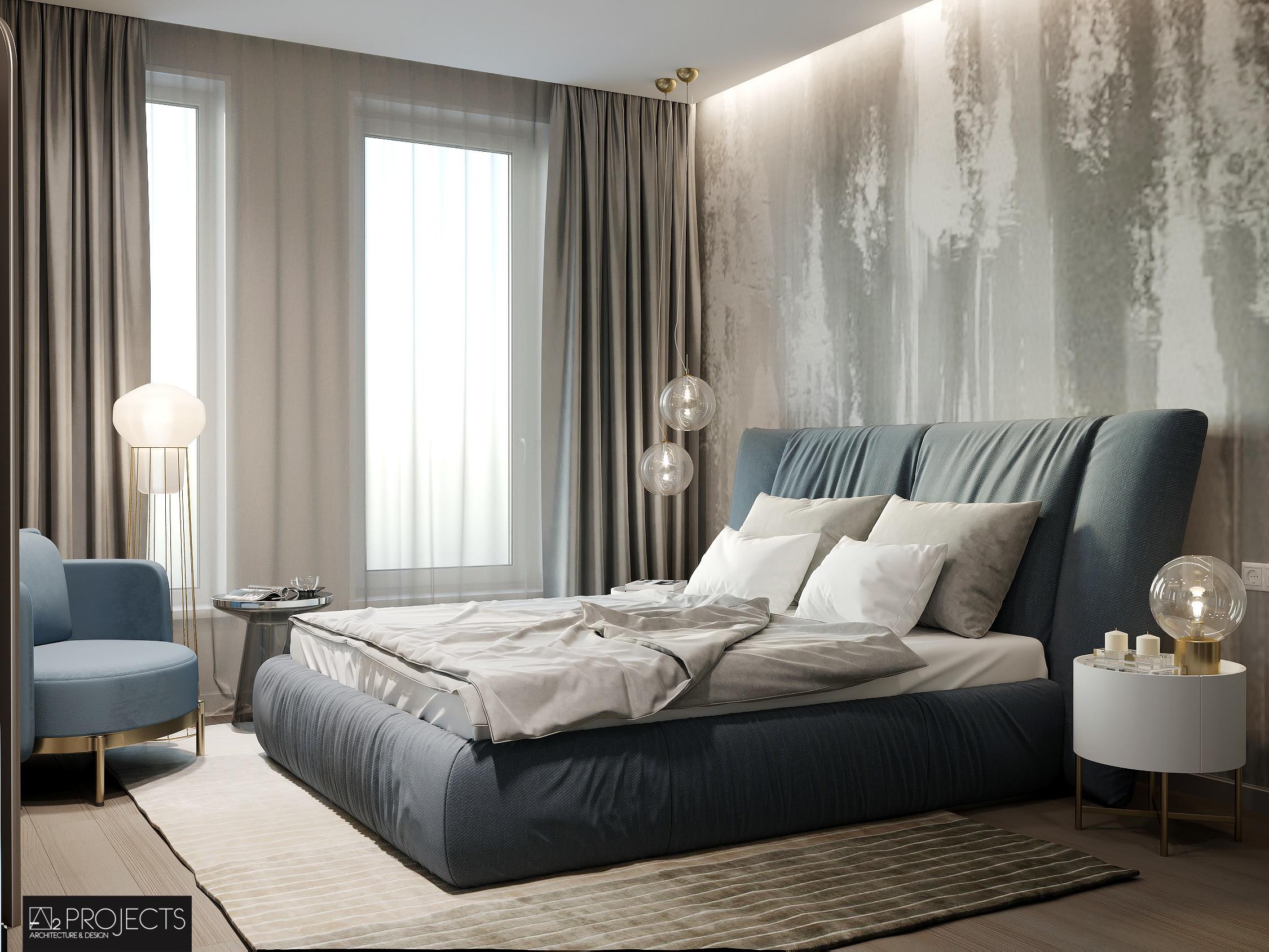Визуализация спальни г.Львов