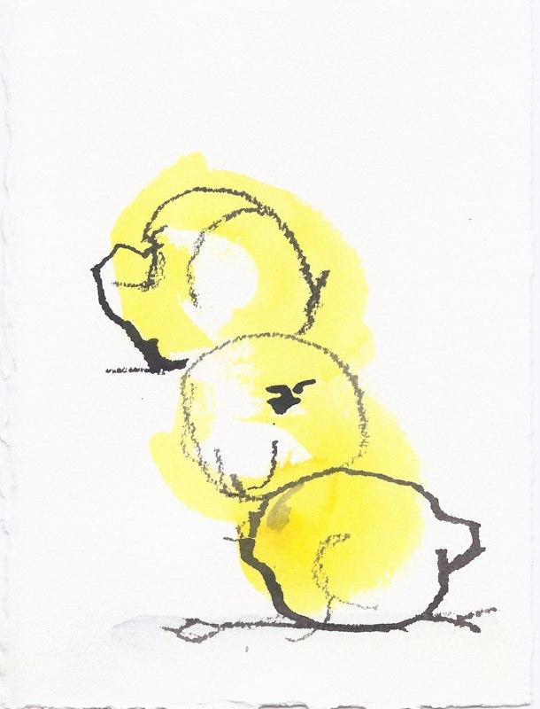 "Lemons  (5 1/2""x7 1/2"")"