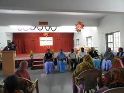Bhopal community Celebrates Christmas with senior citizens in St. Rapahel Co-Ed School, Bhopal