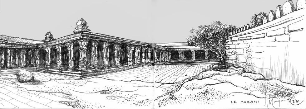 Veerabhadra Temple | Lepakshi
