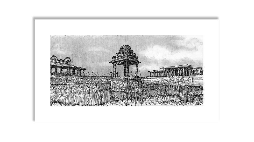 Pushkarni 2   Hampi