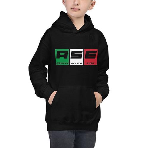 Kids Hoodie - Italian Block Logo